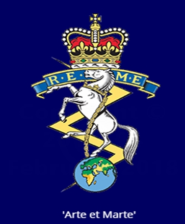 Badge of the Royal Electrical and Mechanical Engineers - REME